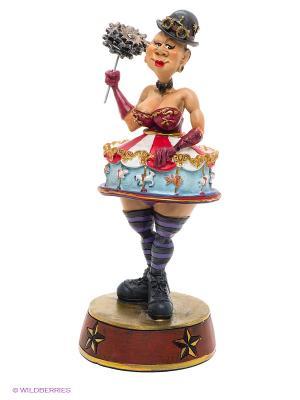 Фигурка Королева цирка The Comical World of Stratford. Цвет: красный, золотистый, голубой, фиолетовый