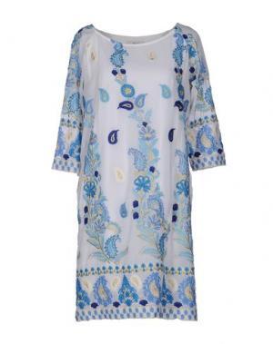 Короткое платье ELLA LUNA. Цвет: белый