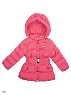 Куртка Cherche. Цвет: розовый