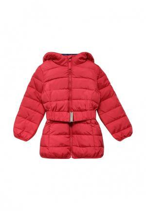 Куртка утепленная Modis. Цвет: коралловый