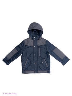 Куртка Иван Аксарт. Цвет: темно-синий
