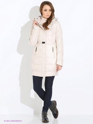 Пальто OSTRICH. Цвет: молочный