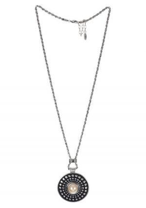 Ожерелье Модные истории. Цвет: серебряный