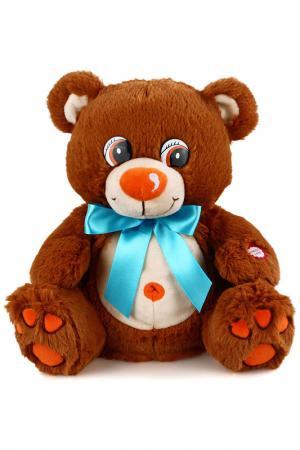 Медвежонок Тоша Fluffy Family. Цвет: коричневый