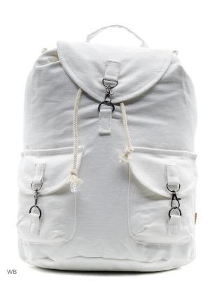 Городской рюкзак TIMBAG. Цвет: белый