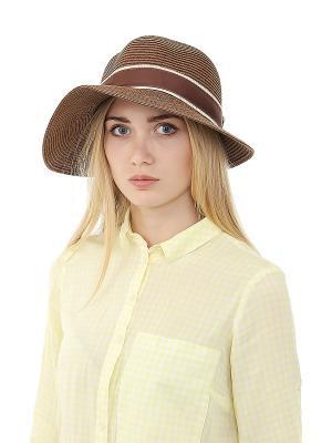 Шляпа Gusachi. Цвет: коричневый