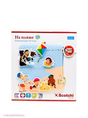 Игра На пляже Scotchi. Цвет: белый, голубой, желтый