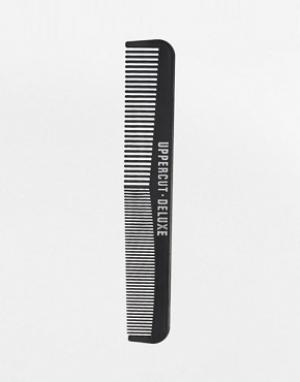 Uppercut Deluxe Карманная расческа. Цвет: черный