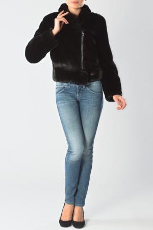 Куртка Меховая фабрика Bagiroff. Цвет: черный