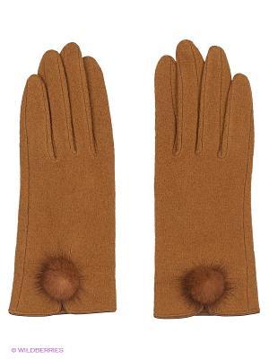 Перчатки Maxval. Цвет: рыжий