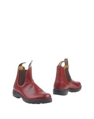 Полусапоги и высокие ботинки BLUNDSTONE. Цвет: красный