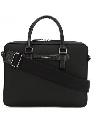 Mediterraneo briefcase Dolce & Gabbana. Цвет: чёрный