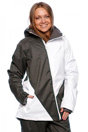 Куртка женская  Fsq W Jk Forge Snow Four Square. Цвет: белый,серый