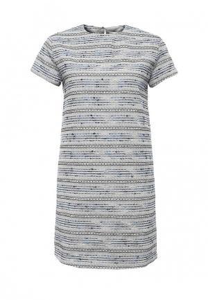 Платье NewLily. Цвет: голубой