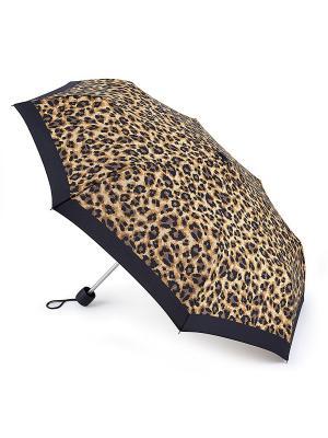 Зонт Механика Fulton. Цвет: коричневый