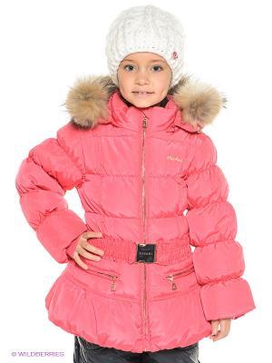 Куртка MES AMI. Цвет: коралловый