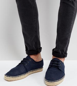 Hudson London Сетчатые эспадрильи на шнуровке эксклюзивно для ASOS. Цвет: темно-синий