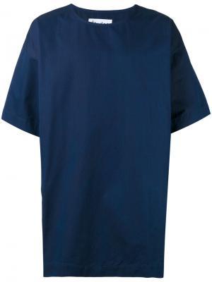 Длинная футболка Powder Études. Цвет: синий