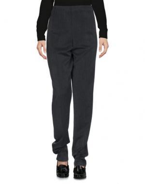 Повседневные брюки SWEET LOLA. Цвет: свинцово-серый