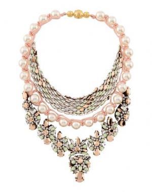 Ожерелье SHOUROUK. Цвет: розовый