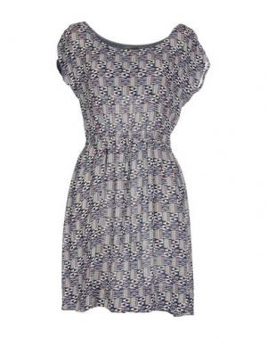 Короткое платье ALICE SAN DIEGO. Цвет: темно-синий