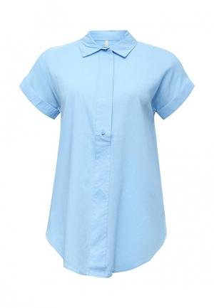 Блуза Baon. Цвет: голубой