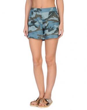 Пляжные брюки и шорты GRAZIA'LLIANI SOON. Цвет: грифельно-синий