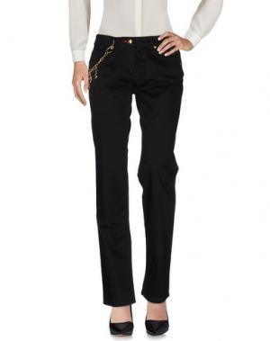 Повседневные брюки PIERO GUIDI. Цвет: черный