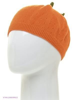Шапка Briollini. Цвет: оранжевый