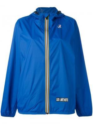 Куртка на молнии Les (Art)Ists. Цвет: синий