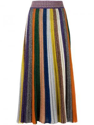 Плиссированная юбка Missoni. Цвет: многоцветный