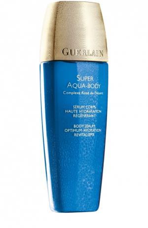 Увлажняющая сыворотка для тела Super Aqua Guerlain. Цвет: бесцветный