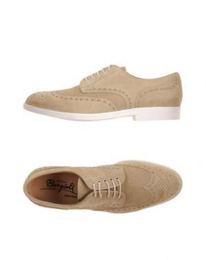 Обувь на шнурках BORGIOLI. Цвет: песочный