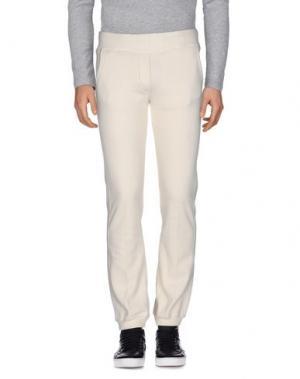 Повседневные брюки VIRTUS PALESTRE. Цвет: слоновая кость