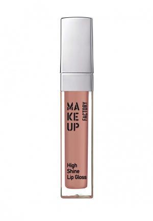 Блеск для губ Make Up Factory. Цвет: коралловый
