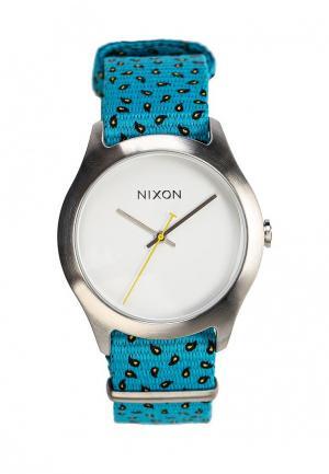 Часы Nixon. Цвет: бирюзовый