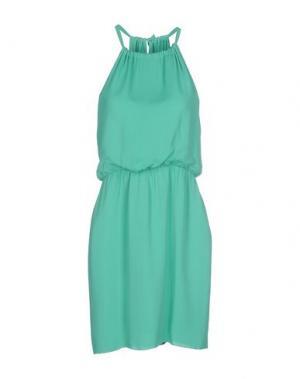 Платье до колена INTROPIA. Цвет: бирюзовый