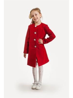 Жакет L&K. Цвет: красный