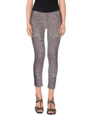 Джинсовые брюки LES ÉCLAIRES. Цвет: бежевый