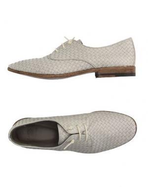 Обувь на шнурках SARTORI GOLD. Цвет: слоновая кость