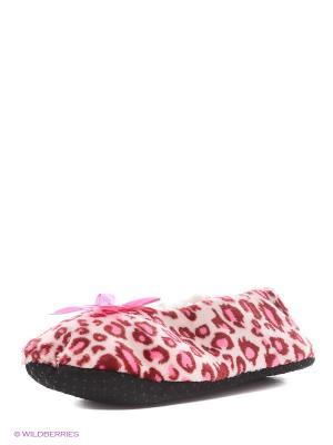 Тапочки SALHAM. Цвет: розовый