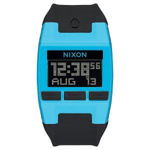 Электронные часы  Comp Sky Bluee Black Nixon. Цвет: голубой,черный