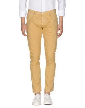 Джинсовые брюки PT05. Цвет: охра