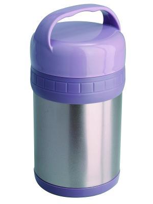 Термос ланч-бокс Regent inox. Цвет: серо-голубой