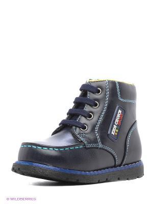 Ботинки ТОПОТАМ. Цвет: темно-синий