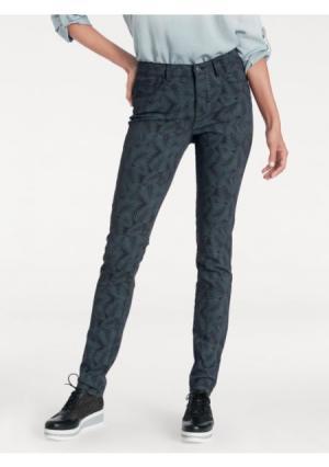 Моделирующие брюки ASHLEY BROOKE by Heine. Цвет: черный/серый