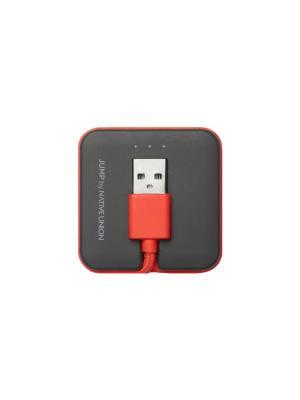 Кабель зарядный с портативным аккумулятором, цвет оранжевый ,JCABLE-L-COR JUMP CABLE Native Union. Цвет: оранжевый
