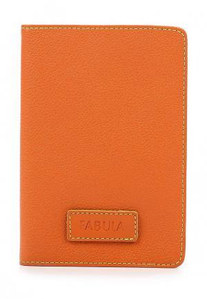Обложка для документов Fabula. Цвет: оранжевый