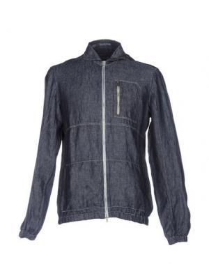 Джинсовая верхняя одежда VANGHER N.7. Цвет: синий