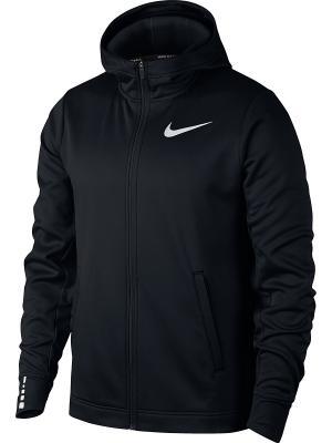 Толстовка M NK THRMA ELITE HOODIE FZ SOL Nike. Цвет: черный